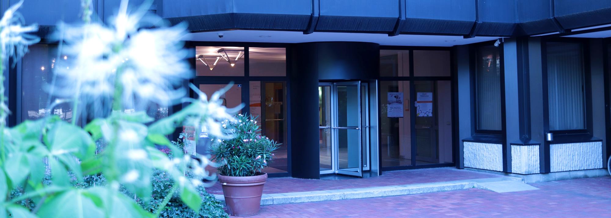cutaris Zentrum Eingang